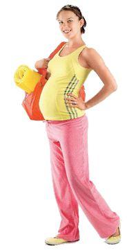 Физкультура и спорт для беременной