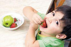 Фрукты и овощи в питании ребенка