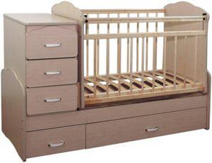 Безопасная детская кроватка