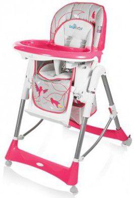 Розовый стульчик для кормления