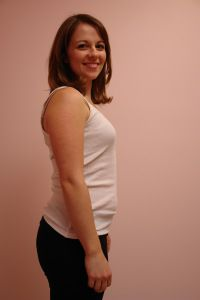 Живот на 2 неделе беременности