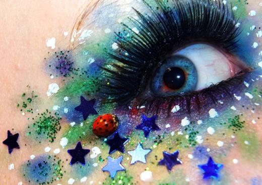 Креативный макияж фото