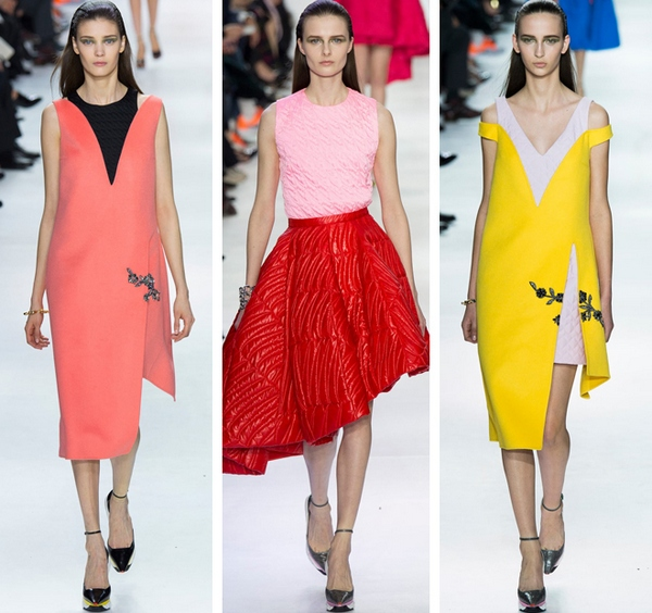 Яркие краски, мода 2015