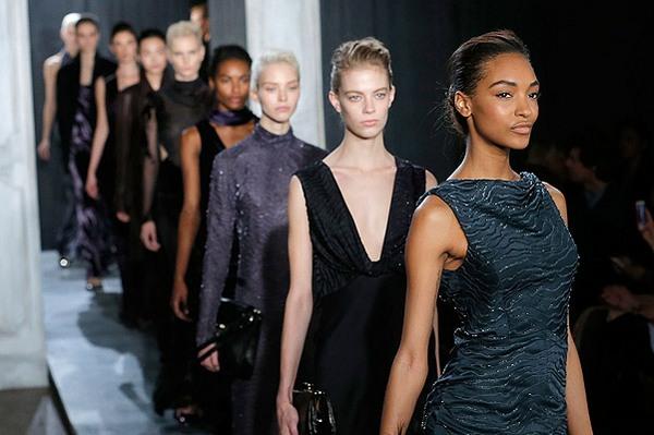 Черный цвет, мода 2015