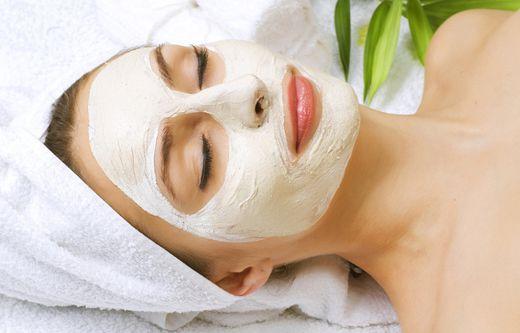 Очищающие маски для лица с мукой