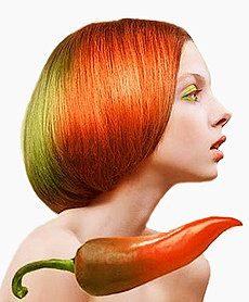 Маска для роста волос с настойкой из красного перца