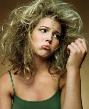 Пушистые волосы