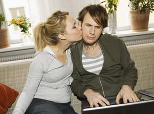 муж не обращает внимания