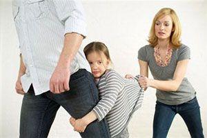 Ребенок после развода с отцом