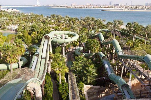 Аквапарки Дубая