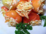 Перец, фаршированный капустой