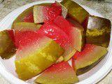 Как засолить арбуз на зиму?