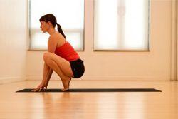 Упражнение второе – «лягушка»