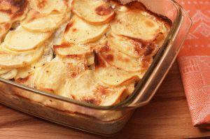 Картошка, запеченная с фаршем