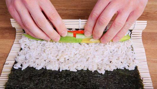 Приготовить суши с пошагово