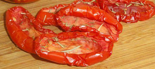 Вяленые помидоры с перцем