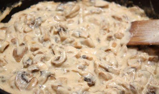 Соус сливочно грибной рецепт